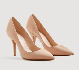 Mango - Nude heels