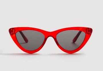 MANGO - red sunnies