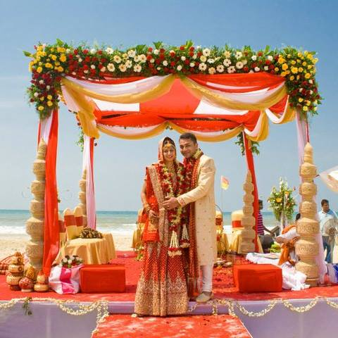 Bijal & Darshan - Ramada Caravela Beach Resort, Goa