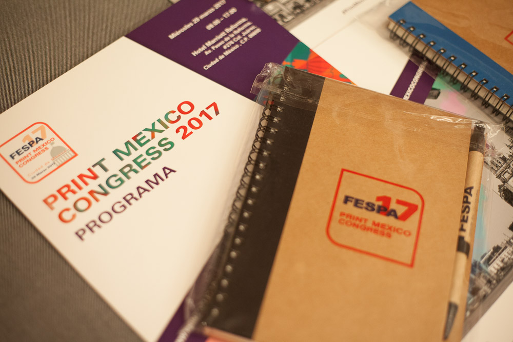 Print Mexico Congress materials