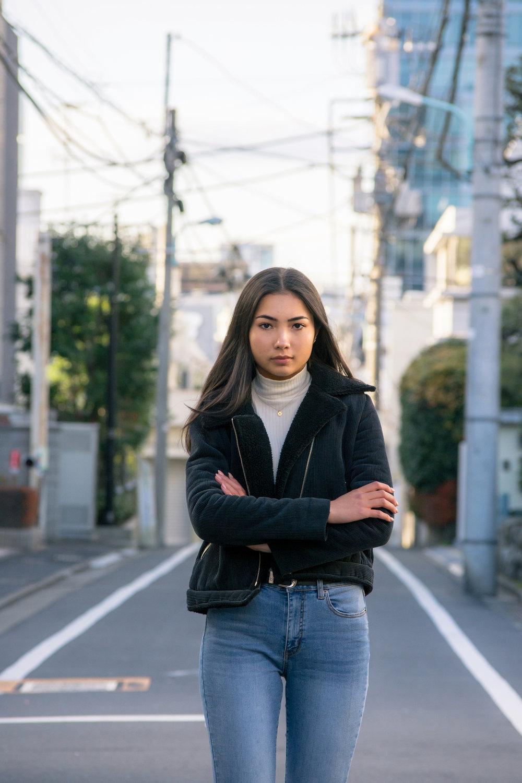 portrait model modeling photoshoot tokyo