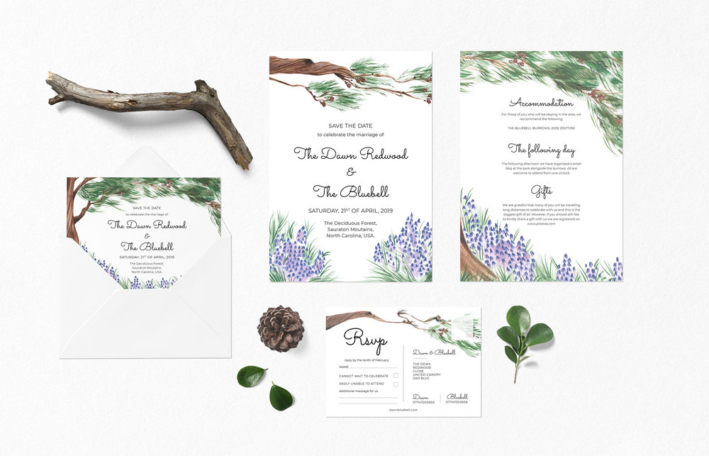 BespokeStationery - A completely bespoke wedding stationery service,Creating artwork that is inspired by you and your unique story together