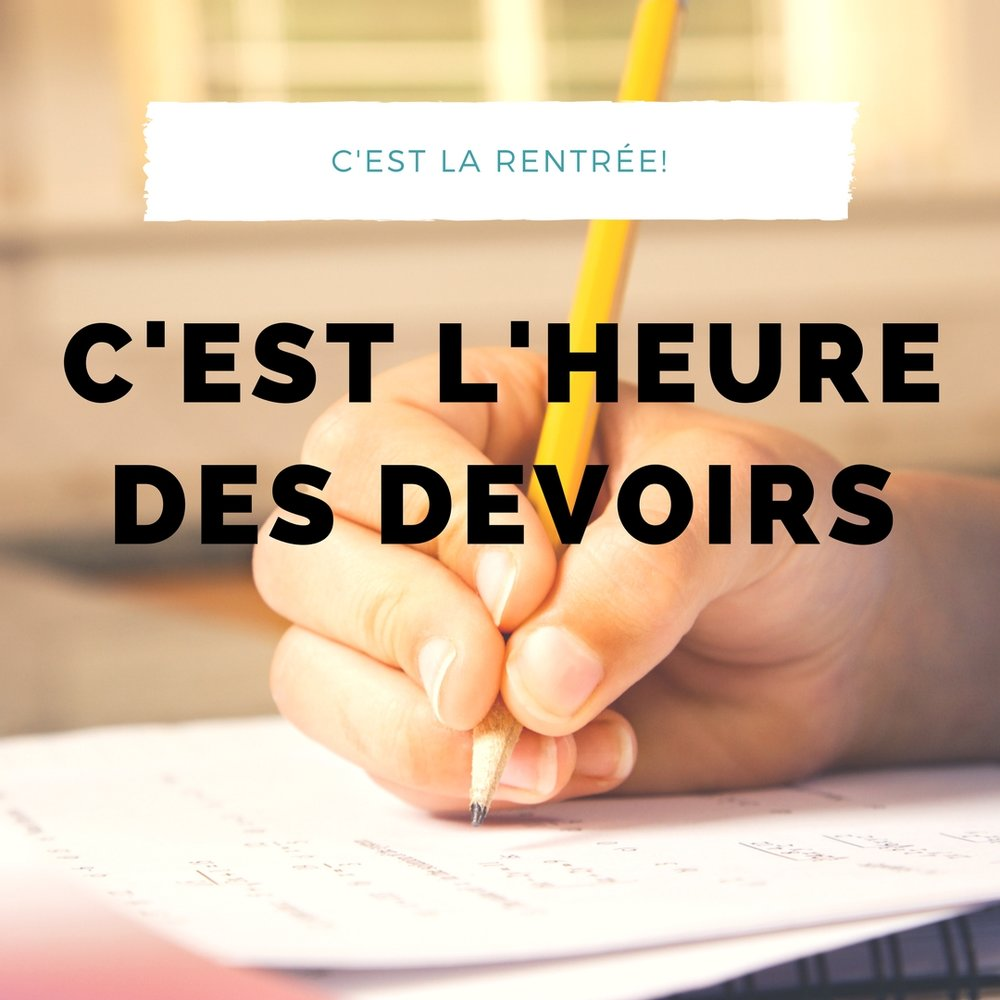 devoirs