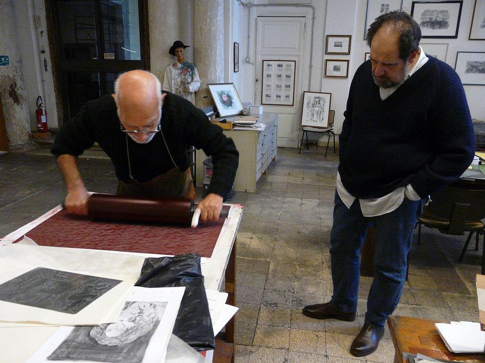 Stamperia d'Arte  L'Acquaforte  di Luigi Ferranti