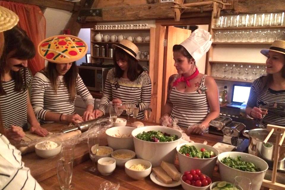 Pasta Making -
