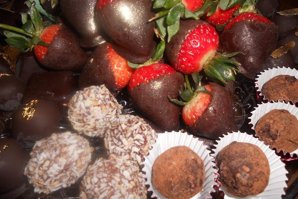 Chocolate tempering & truffle making class -