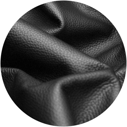 upholstery-material-real-leather-circle