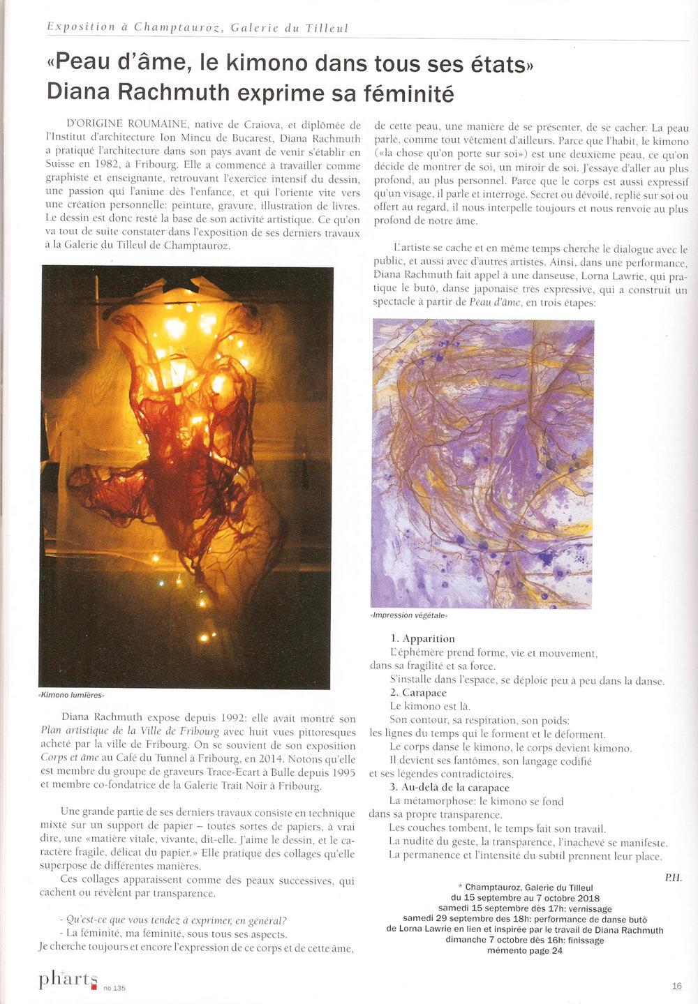 Article paru sur le magazine pharts (No 135, août-septembre 2018)