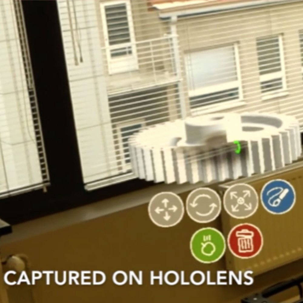 Mixed Reality Collaboration Tool -
