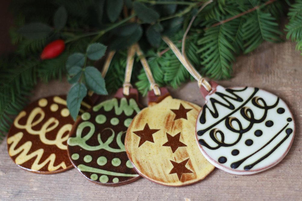 ceramic christmas decorations - Ceramic Christmas Decorations