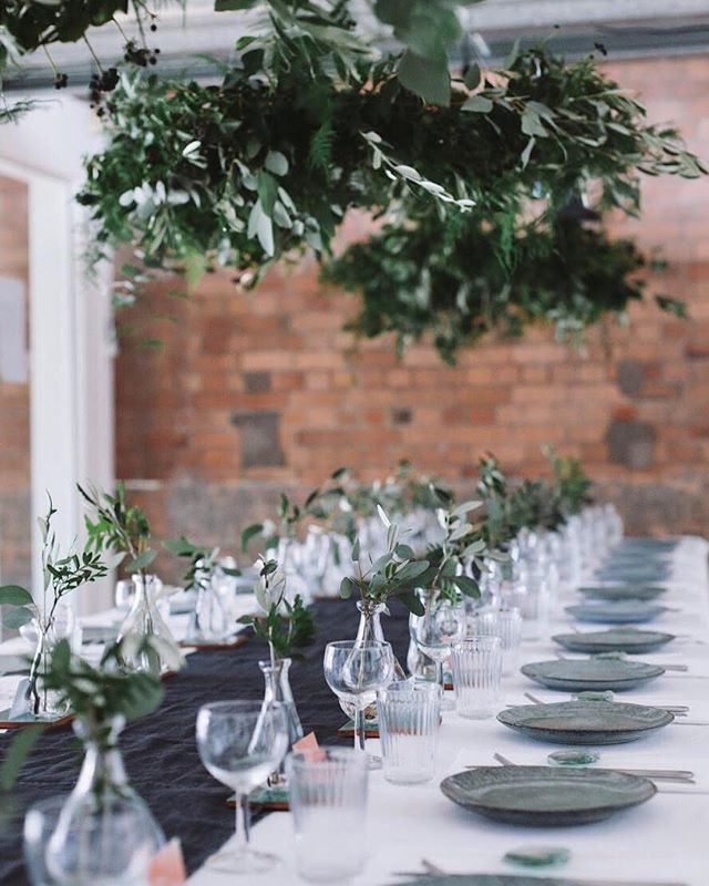 The Yonder Table awaiting guests. At this event, we spoke about the importance of pause & process - stopping in the 'busyness of life' to reflect, dream again and move forward with fresh vision and inspiration 🌿 📷 @marrbell  #yondercollective #creativenetworking
