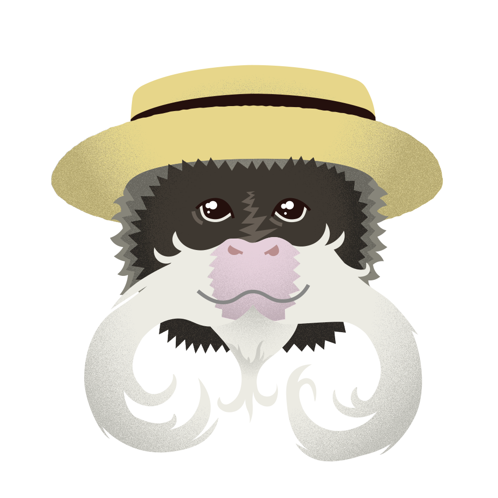 A Monkey cannot live on moustaches alone!