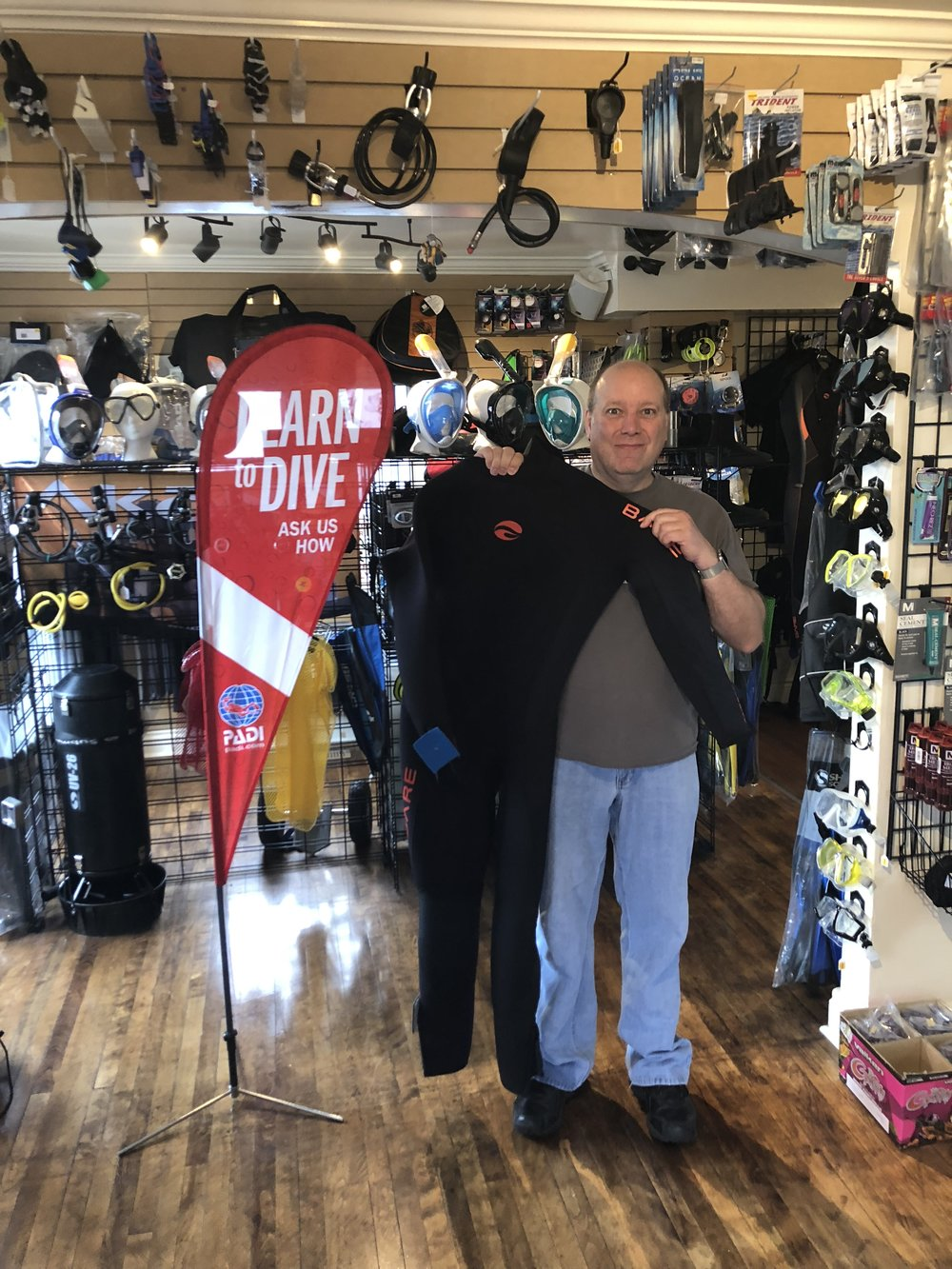 Winner of a Bare Velocity Ultra Wetsuit