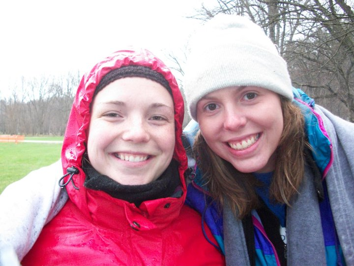 Katie and Kacey - spring of 2011