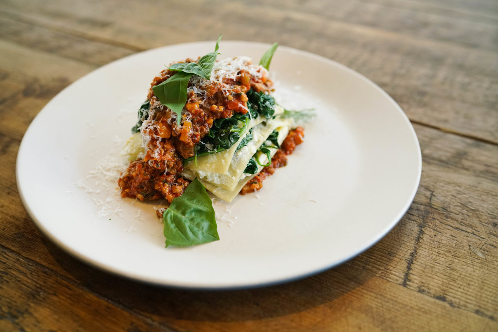 Lasagna Bolognese from True Food Kitchen (coming to CityPlace in 2019)