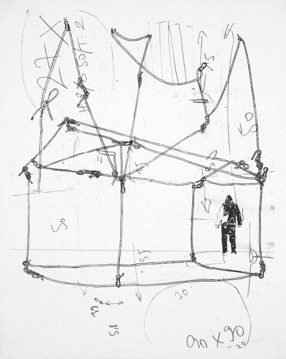 o.T.  Siebdruck. 50cm x 40cm, 2012