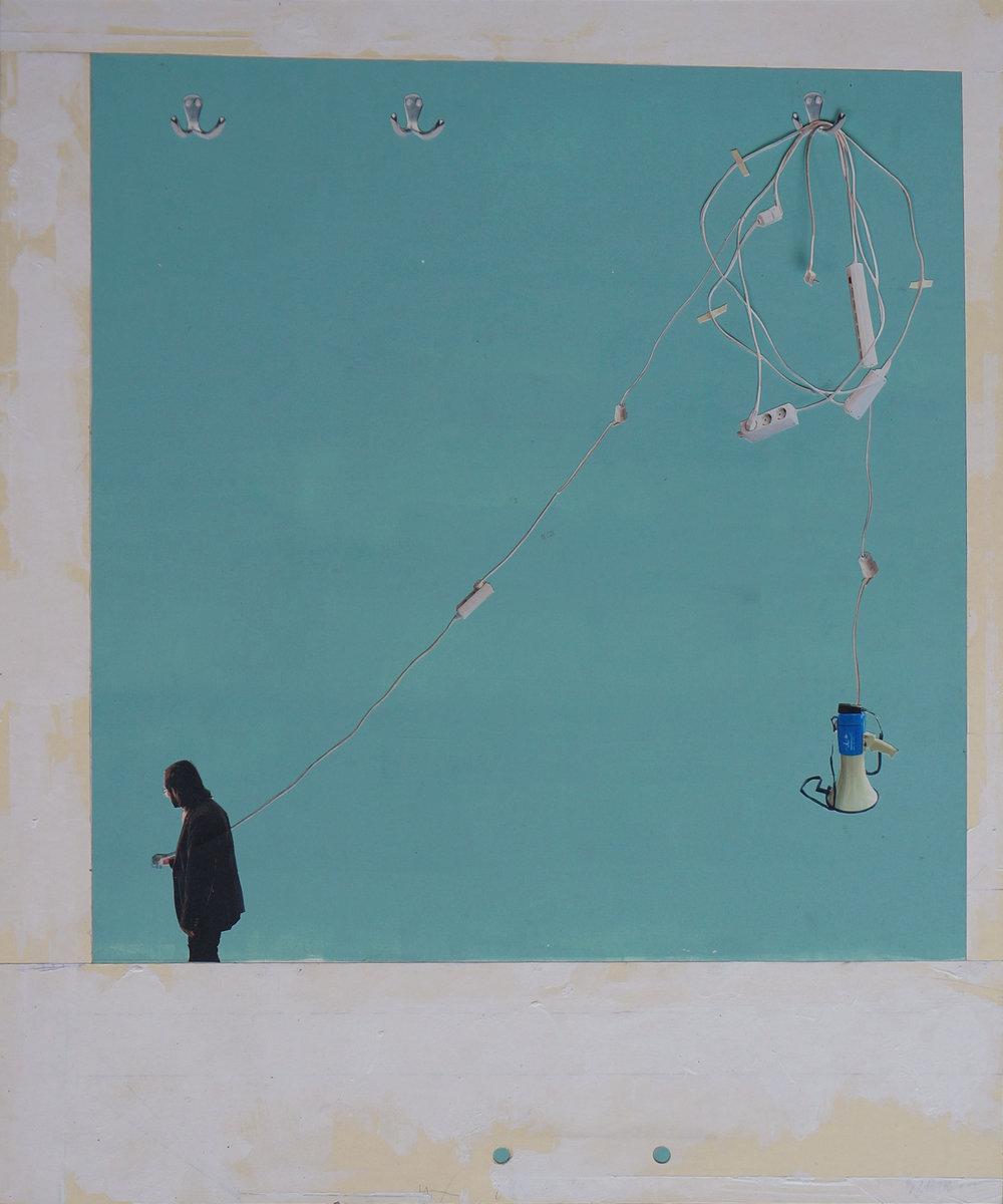 o.T.  Collage, 60cm x 50cm, 2014