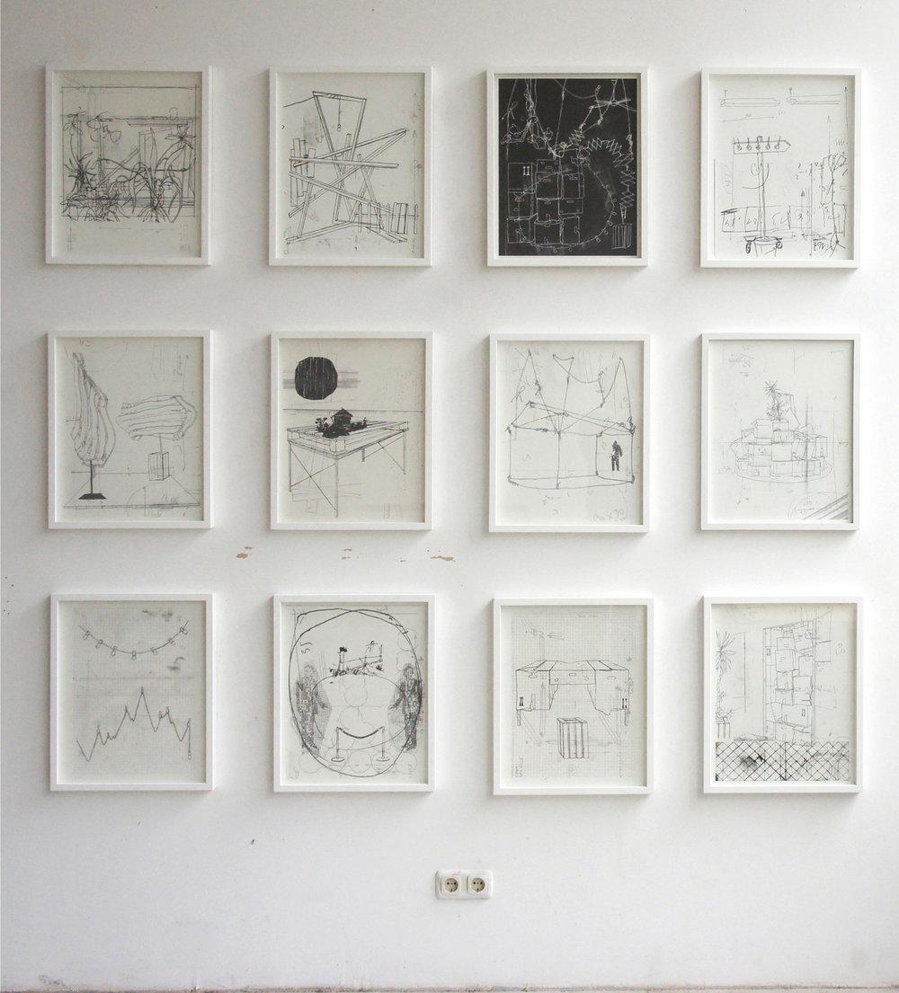 Offene Ateliers 2012 , Städtisches Atelierhaus Baumstrasse 8b