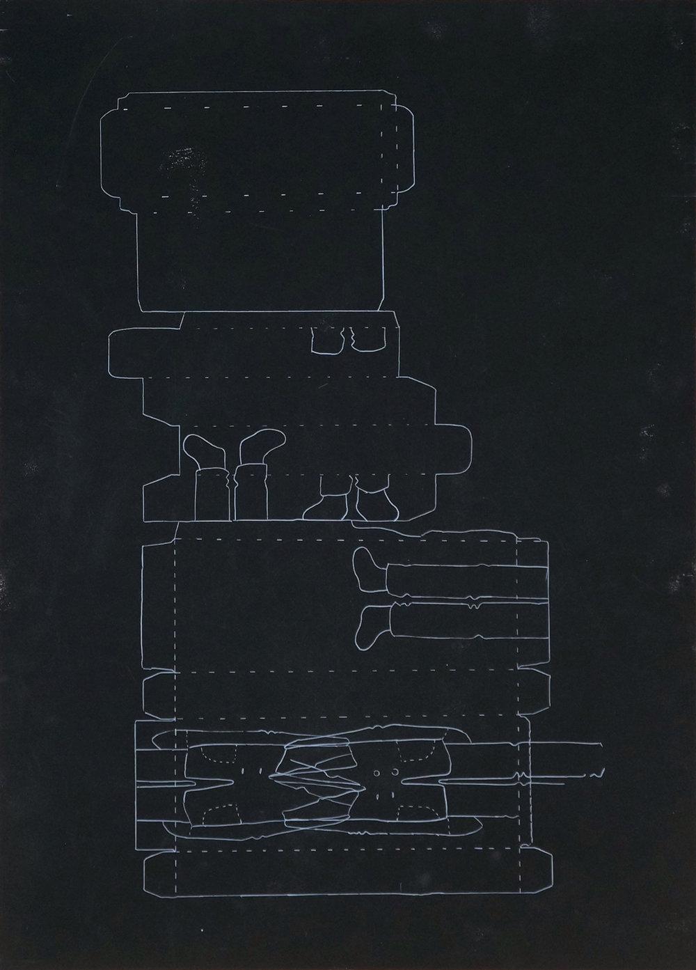 o.T. Zeichnung, 70cm x 50cm, 2017