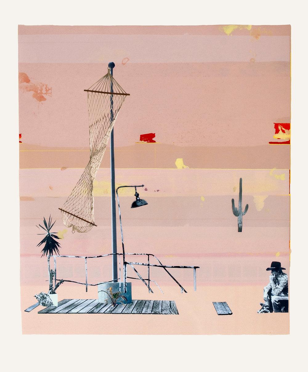o.T.  Collage, 90cm x 70cm, 2011