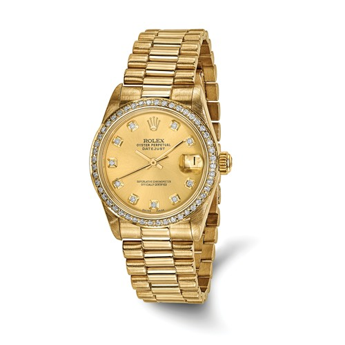 Pre-OwnedLuxury Watches - Rolex watches represent the height of luxury. These impeccably designed watches last for generations, often being passed down from generation to generation.A pre-owned model is the perfect way to get an incredible watch at a better price. All of our pre-owned watches are certified authentic and are restored to impeccable standards.