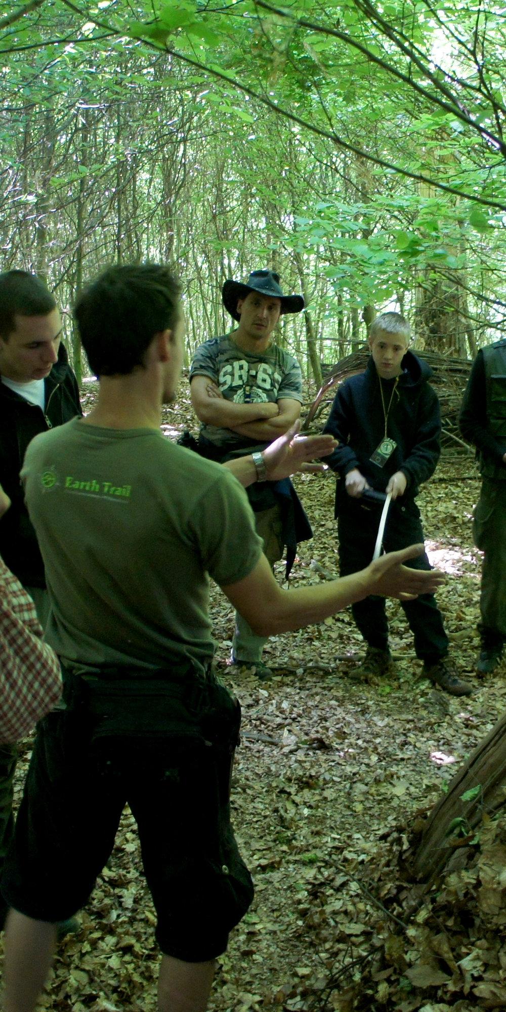 Outdoor Guide / Wildnisführer Ausbildung - Persönliche Kompetenz