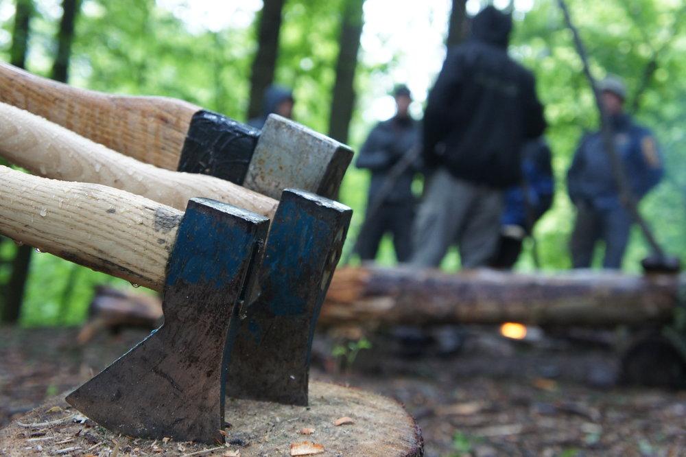 Sicherheitseinweisung für Messer und Axt