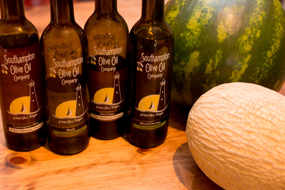 Fresh is best. Southampton Olive Oil Company changes hemispheres every 6 months for the freshest oils. Olive Oil lasts about 18 months; the fresher it is the more flavour it has.