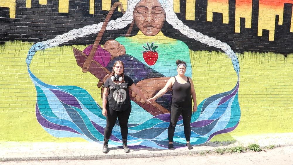 Aura and Chief Lady Bird  @auralast   @chiefladybird