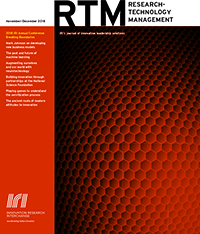 Research Technology Management, December 28, 2015