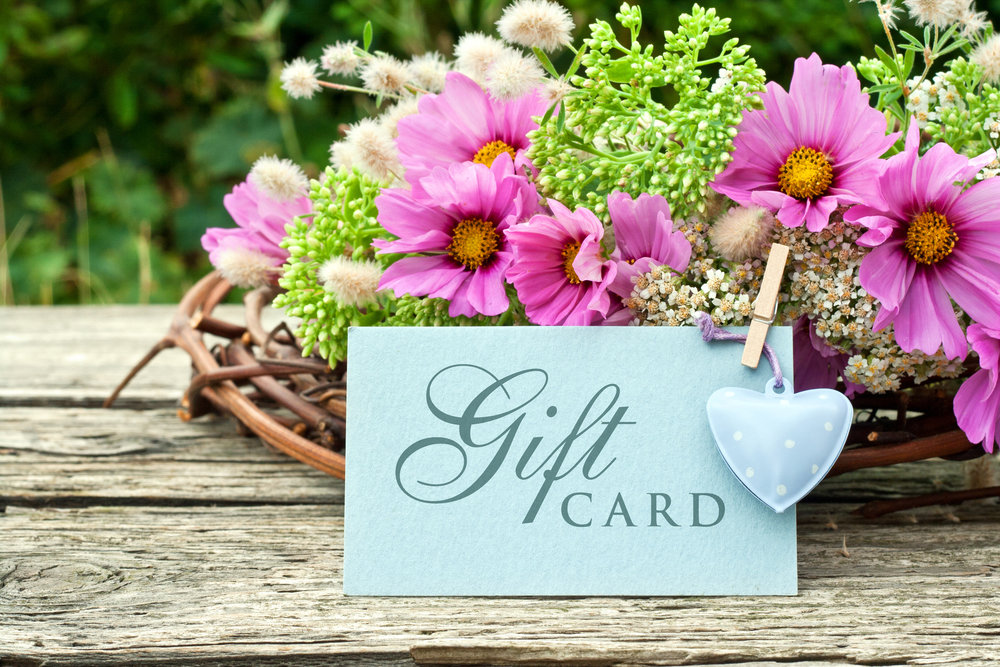 Gift Certificates -