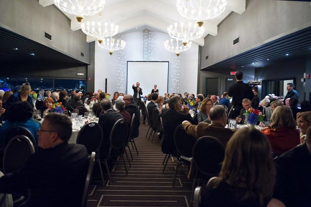 Gratitute Gala non-profit guests and speakers celebration