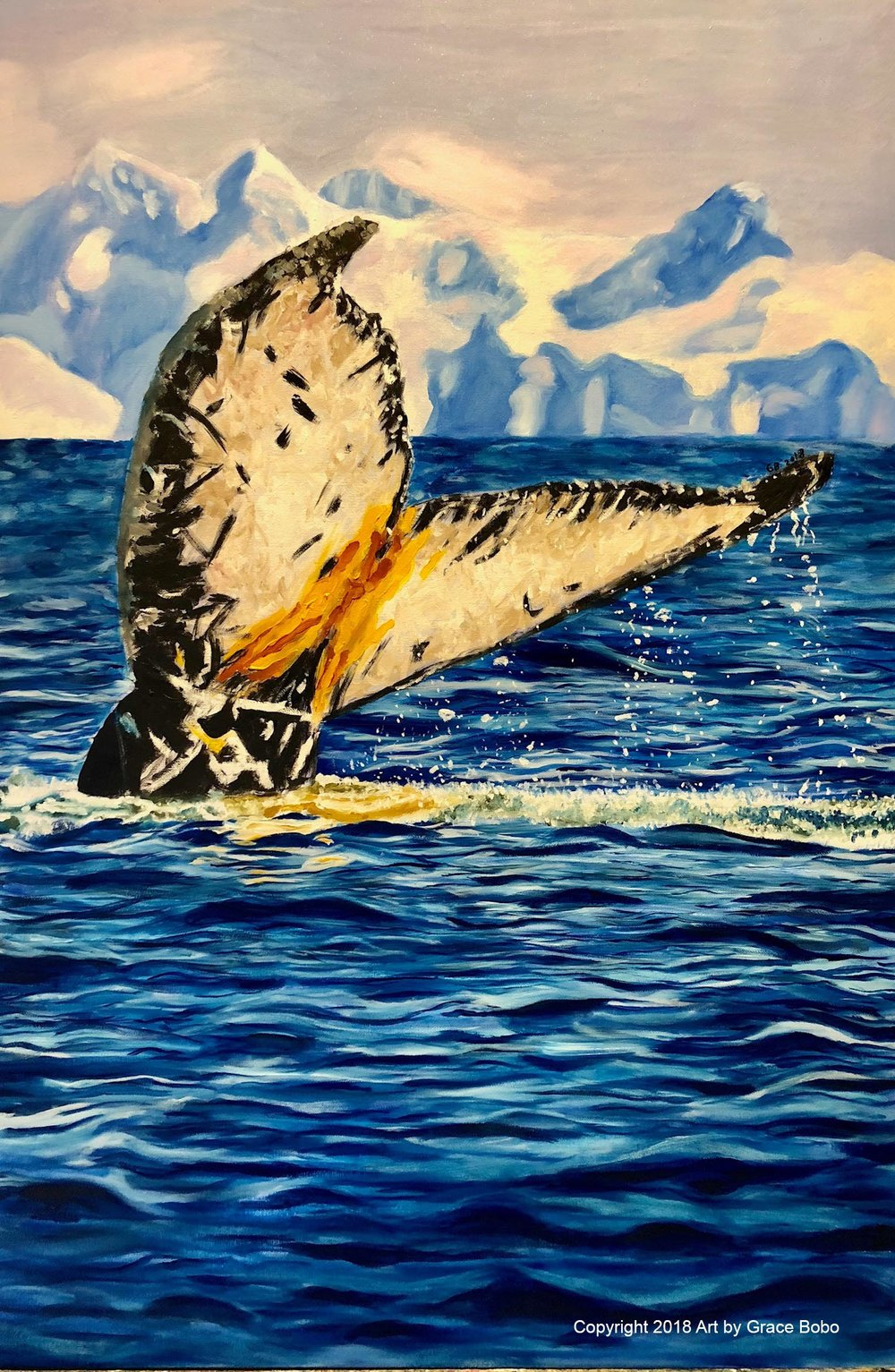 Champion | Oil on Canvas | 24x36