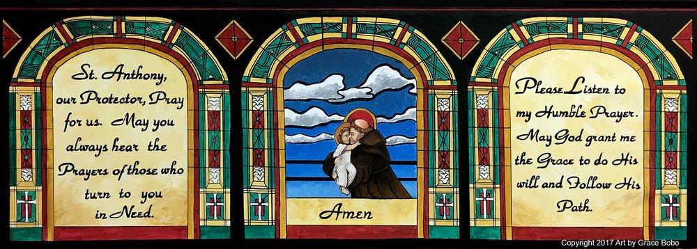 Saint Andrew Panel 2 | Acrylic | 72x36