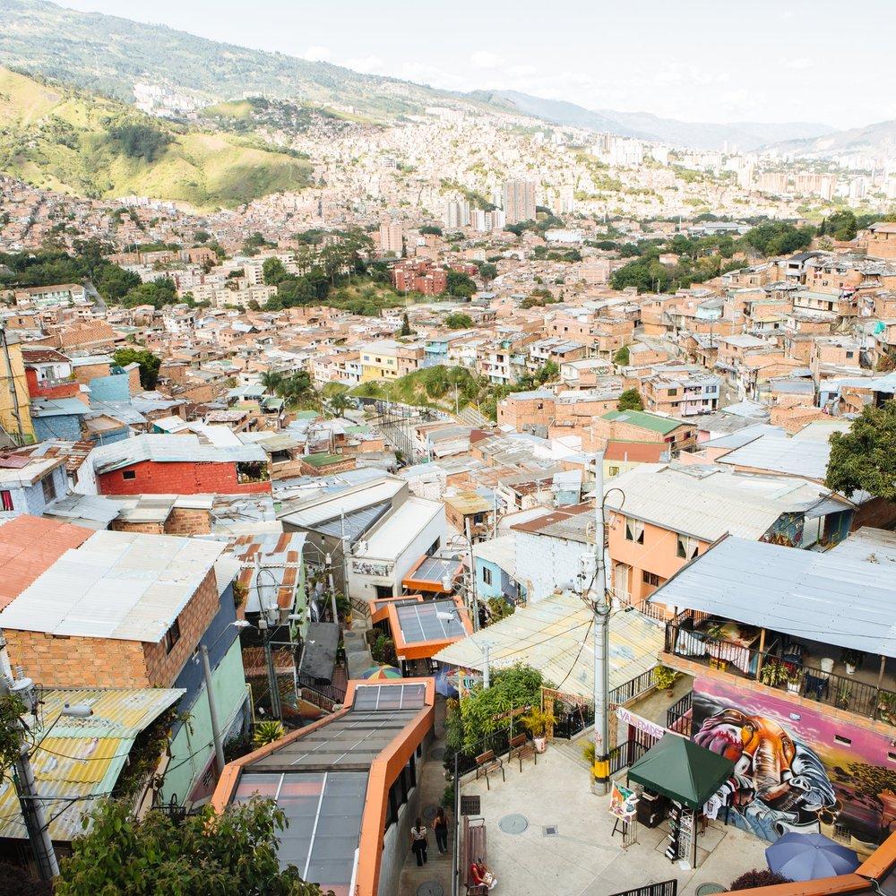 Comuna 13 Medellin Antioquia Boutique Colombia