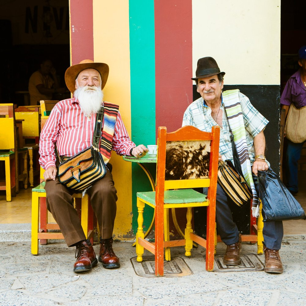 Charming colonial town gentlemen Boutique Colombia