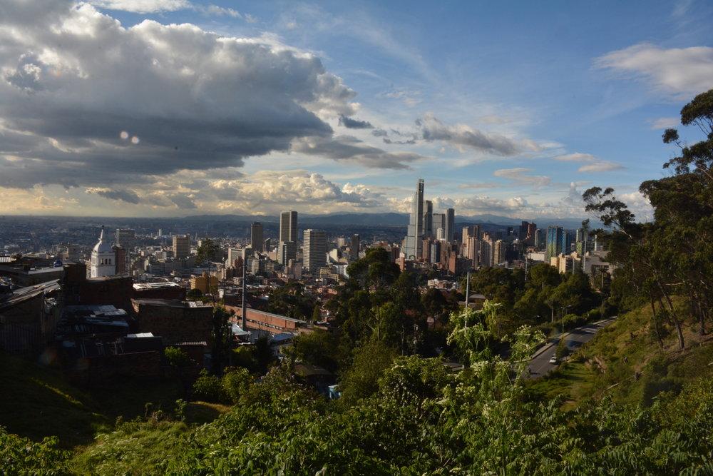 Bogota skyline, Boutique Colombia