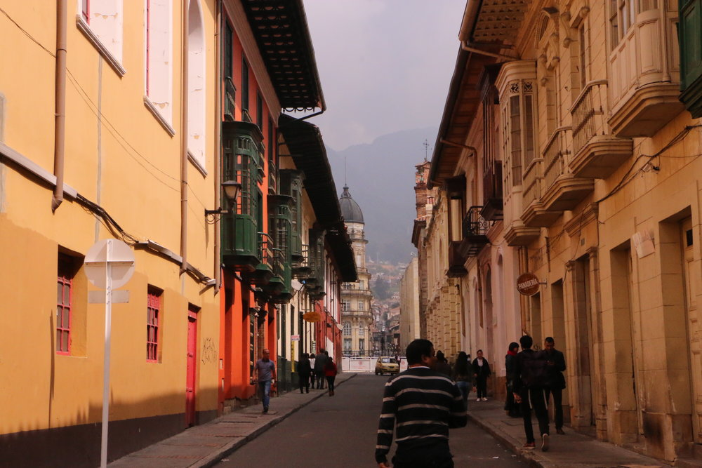 La Candelaria historical district, Bogota, Boutique Colombia