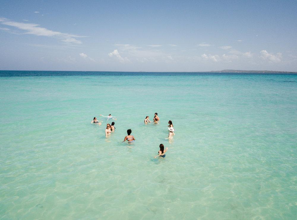 Rosario Islands beach ocean Cartagena Boutique Colombia
