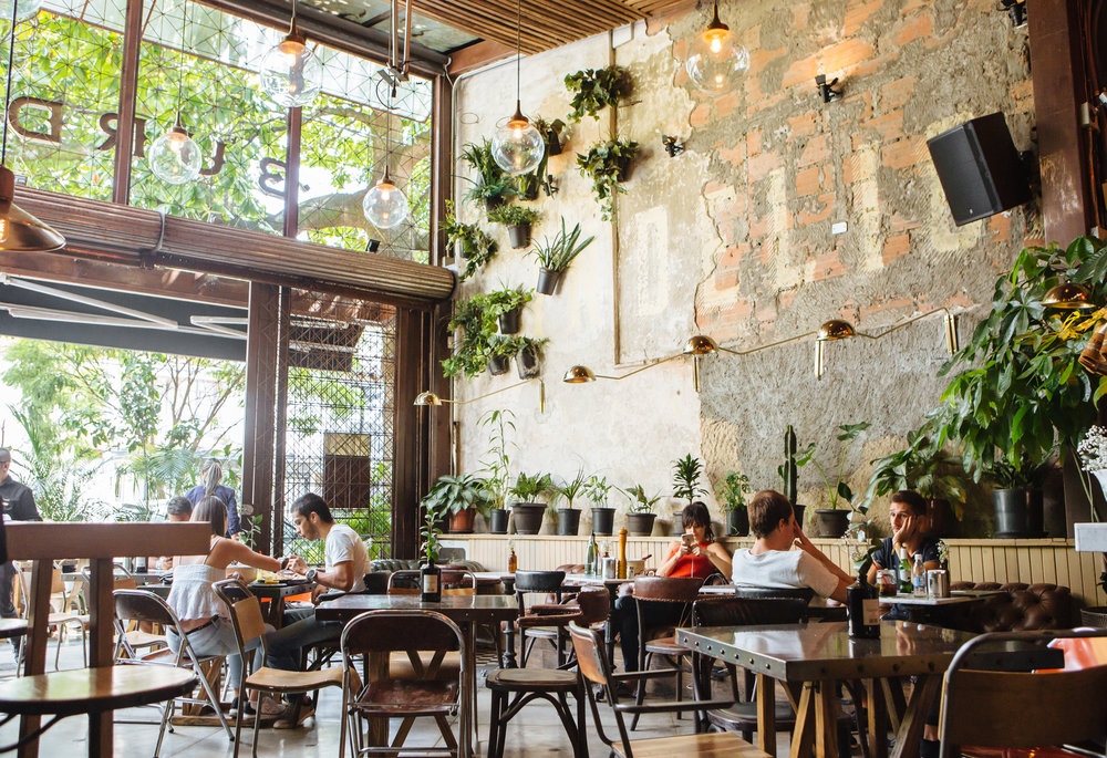 Medellin trendy restaurant Boutique Colombia