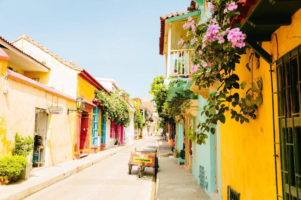 Cartagena colorful colonial architecture Boutique Colombia