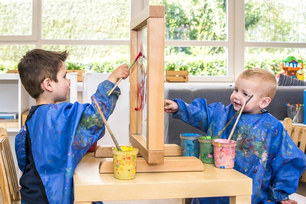 Een natuurlijke overgang van babyopvang naar peutergroep