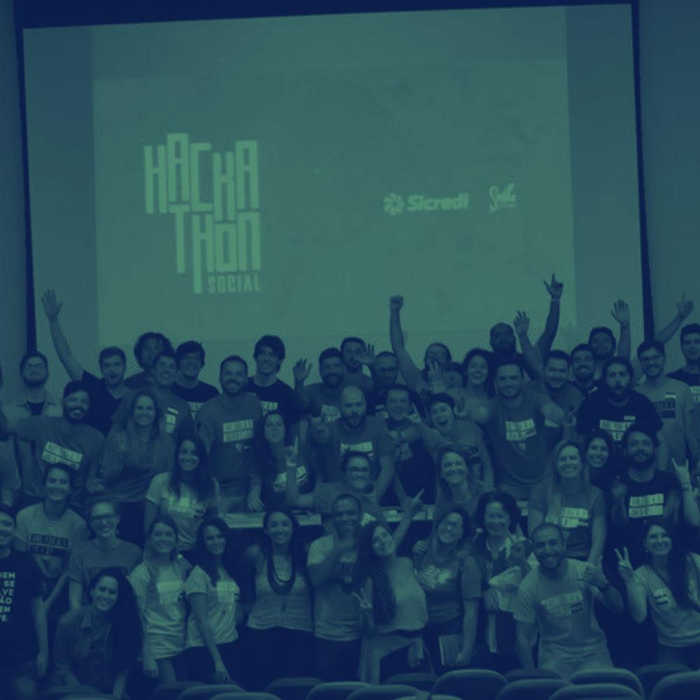 Hackathon Social - Uma maratona de 31 horas de programação, na qual os estudantes das áreas de design, programação e marketing se reuníram para criar projetos que causem um impacto positivo.
