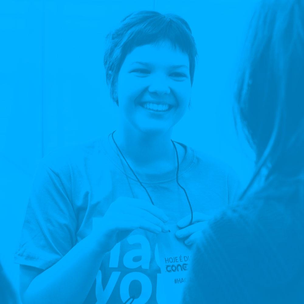Hacklab - A Smile Flame aproximou alunos do ensino médio com alunos da Unisinos para experienciar 19 horas de imersão com o objetivo de desenvolver soluções digitais para diferentes problemas sociais.