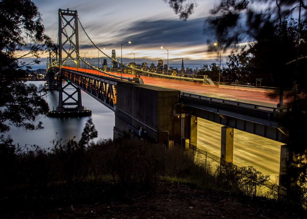 Bay Bridge Action