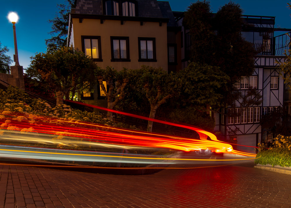 Lombard St Lights