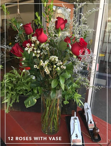 PremiumLong Stem Roses - 24 Roses (vase included) $14018 RosesWrapped Bouquet $105With Vase $11012 RosesWrapped Bouquet $75With Vase $806 RosesWith Vase $50Add Extra Flowers $10+Contact us at 413-347-3422 for details & to order.