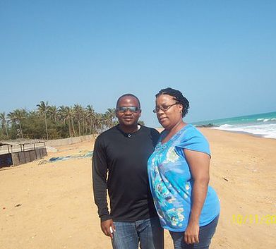 Yvette moved to the West African nation of Togo to teach at a local school.