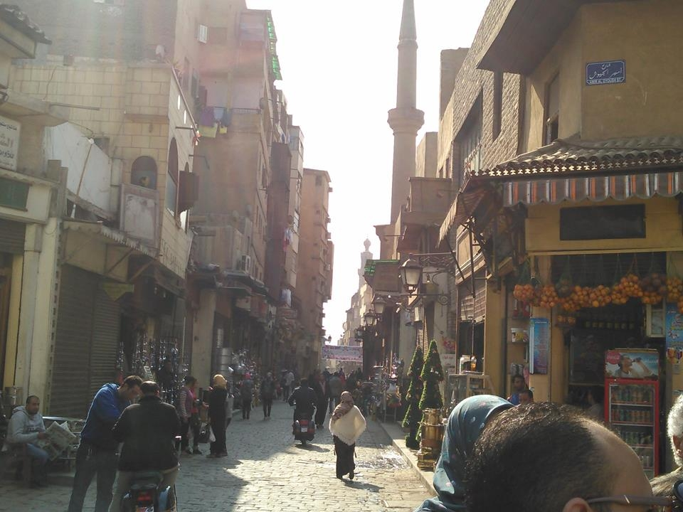 A street in Old City, Cairo.