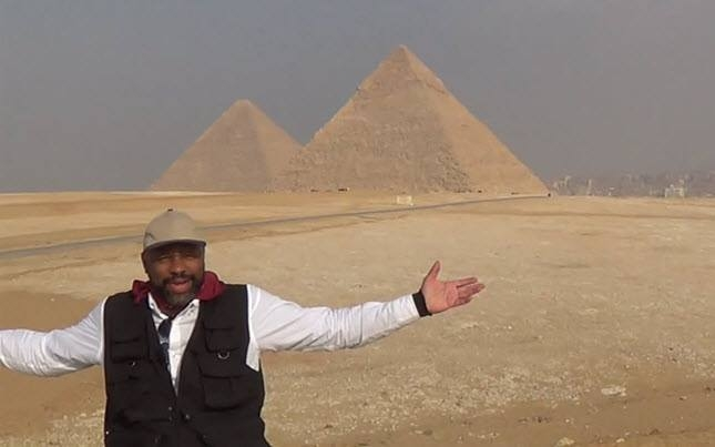 The Giza Plateau.